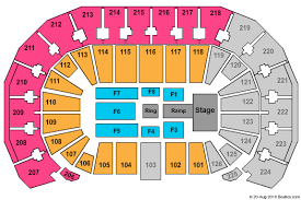 Intrust Bank Arena Seating Chart For Wwe Intrust Bank Arena Seating Chart