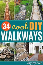 diy walkways do it yourself walkway ideas for paths to the front door and backyard