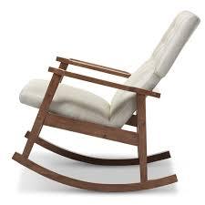 Rocking Chair Modern baxton studio agatha midcentury modern light beige fabric 6041 by uwakikaiketsu.us
