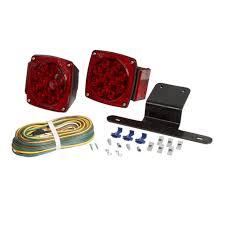 Optronics Tll 9rk Led Sealed Trailer Light Kit Optronics Square Led Trailer Tail Light Kit