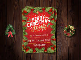 10 Free Christmas Party Flyer Templates In Multiple Format