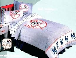 yankees crib bedding set new custom made red