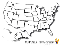 Small Picture Coloring Pages United States Map Gekimoe 53537