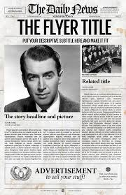 Creative Newspaper Template Photoshop Newspaper Template By Newspaper Templates On