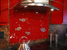 Red Floor Tiles Kitchen Design679662 Red Glass Tile Kitchen Backsplash Glass Tile