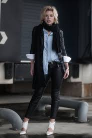red reiding hood fashion blogger wearing faux leather biker pants h m street style leather jacket