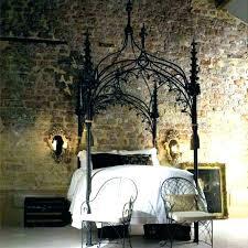 gothic bedspread black
