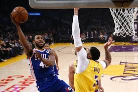 Receive comprehensive coverage of your teams and stream the flyers, sixers and phillies games easily on your the lakers star got inspired in the moment by a teammate's bet. Anthony Davis Scores 37 Leads Lakers Past Sixers 120 107