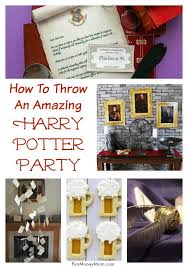 36 seriously awesome harry potter party