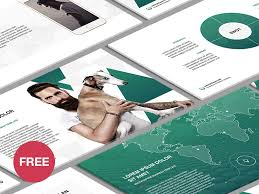 Free Business Templates For Powerpoint Free Powerpoint Template Business Plan By Hislide Io Dribbble