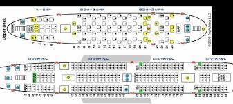 Airbus A380 800 Seating Plan British Airways Heritage