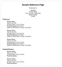 Reference Page For Resume Template Unique Template Of Reference Page For Resume Best Resume Examples