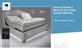 How to Choose a Base for Your Sleep Number Mattress | Sleepopolis