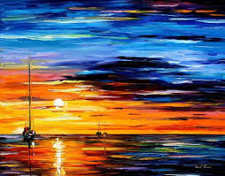 Canvas Painting Far And Away Original Oil On Canvas Painting By Leonidafremov On