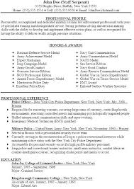 Resume For Police Officer New Police Officer Resumes Zromtk Adorable Police Officer Resume