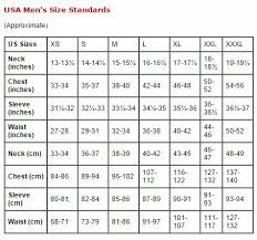 Slim Fit Shirt Size Chart Www Bedowntowndaytona Com