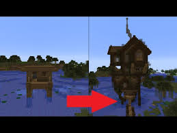 let s transform a minecraft witch hut play