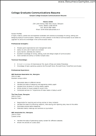 Infographic Resume Templates Examples College Graduate Resumes