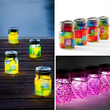 diy outdoor solar lighting ideas. upcycled mason jar solar lights diy outdoor lighting ideas