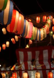 ゆんフリー写真素材集 No 1223 夏祭りの提灯 日本 東京
