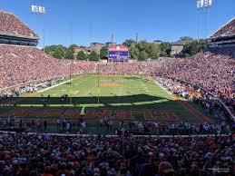 Memorial Stadium Clemson Section X Rateyourseats Com