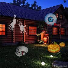 halloween outdoor lighting. LED Outdoor Projector Light Halloween/Christmas Led Projectors Lamp 12 Patterns Christmas Fairy Party Halloween Lighting Y