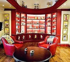 Disney Bedroom Decor Family Room In Home Proudly Displays Collectibles  Design Interior Concepts Disney Planes Room