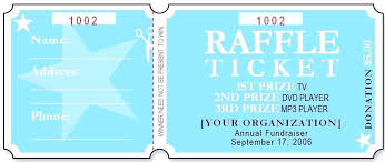 ticket sample template sample raffle ticket coupon printable template format