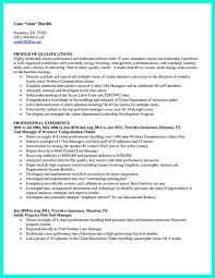 sample insurance for claims adjuster resume sample