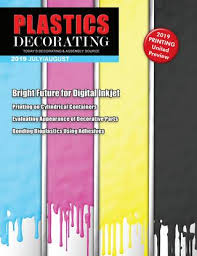 Plastics Decorating July August 2019 By