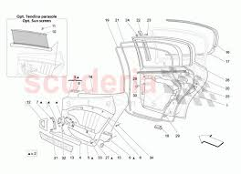 rear doors trim panels for maserati quattroporte  enlarge diagram acircmiddot acirc