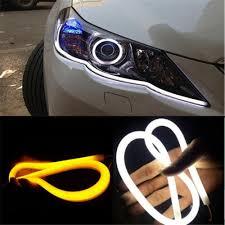 Led Car Signal Lights Car Led Strip Lights Signal Light Flexible Silicon Daytime