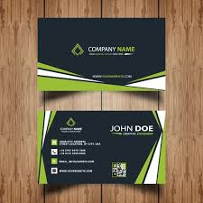 Professional Business Card Template Free Vectors Ui Download