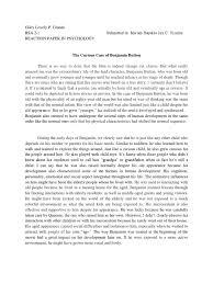 psychology reaction paper final