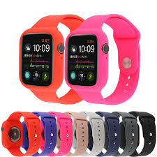Soft <b>silicone Replacement Bracelet Strap</b> + Protective case 40 ...