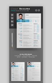 Modern Resume Pdf Template Creative Resume Template Word Free Download