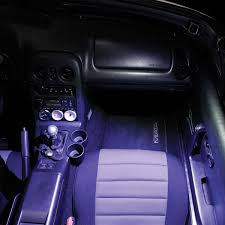 Miata Led Interior Lights 903 596 Led Sun Visor Light Kit By Jass Performance Black