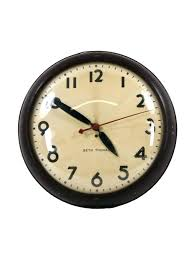 large office clocks. Industrial Looking Wall Clocks C Vintage Mount Factory  Office Save Large Style