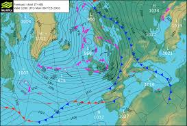 surface pressure charts storm imogen brings gales to southern areas of britain official