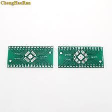 <b>ChengHaoRan 5 pcs</b> QFP32 QFP32 Converter Adapter Socket PCB ...