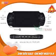Máy chơi game cầm tay đa năng psp x6, tay cầm chơi game, có thể được sử  dụng như mp3; mp4; ghi âm; máy ảnh kỹ thuật số; máy nghe nhạc mini