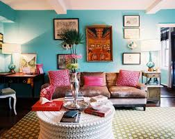 Texture Paint Design For Living Room Living Room Comfortable Bohemian Living Room Design With