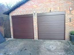 sears garage doors compact garage doors compact garage door in mahogany wood grain finish this door