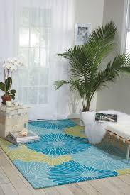 nourison fantasy fa25 green area rug