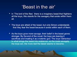 symbolism in lord of the flies  symbolism in lord of the flies the beast adam rowe scott howlett 2
