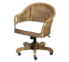 rattan office chair. Wicker Office Chairs White Rattan Swivel Desk Chair Stool . N