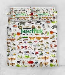 Insect Park Chart Bedding Set Monkstars Inc