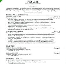 Restaurant Waiter Resumes Restaurant Waiter Resume Sample Resume Of Waitress Restaurant