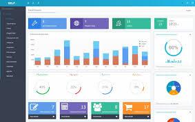 Dashboard Performances Crm Webdesign Php Mysql