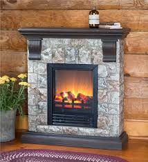 main image for faux stone electric fireplace